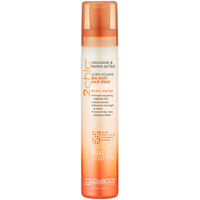 Giovanni 2chic Ultra Volume Big Body Hair Spray Tangerine & Papaya Butter 150ml