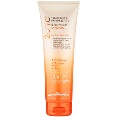 Giovanni 2chic Ultra Volume Shampoo Tangerine & Papaya Butter 45ml