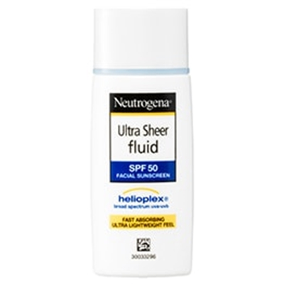 Neutrogena Ultra Sheer Fluid Facial Sunscreen SPF50 40ml