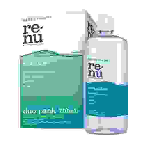 Renu Sensitive Multi Purpose Solution Duo Pack 2 x 355ml Solutions + Lense Case