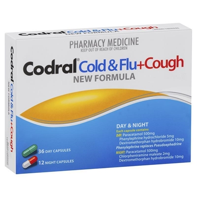 Codral PE Cold & Flu + Cough Day & Night 48 Tabs