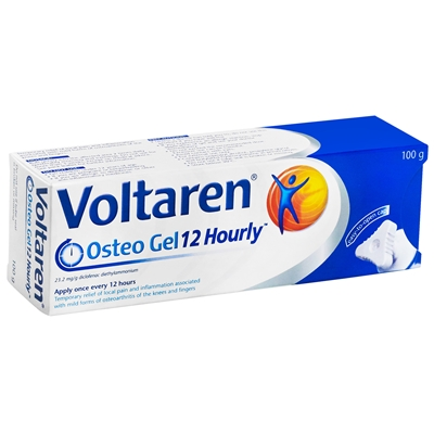 Voltaren Osteo 12 Hourly Gel 100g