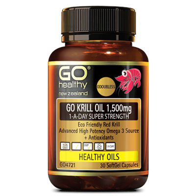 GO Healthy GO Krill OIl 1500mg 1-A-Day 30 Caps