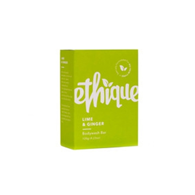 Ethique Body Wash Bar Lime & Ginger 120g