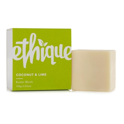 Ethique Butter Block Coconut & Lime 100g