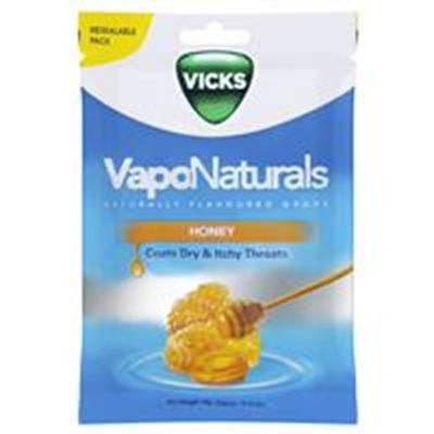 Vicks VapoNaturals Honey Throat 19 Lozenges