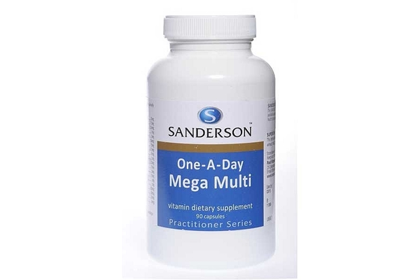 Sanderson One-A-Day Mega Multi 90 Caps