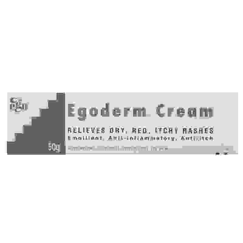 Ego Egoderm Cream Relieves Dry, Red, Itchy Rashes 50g