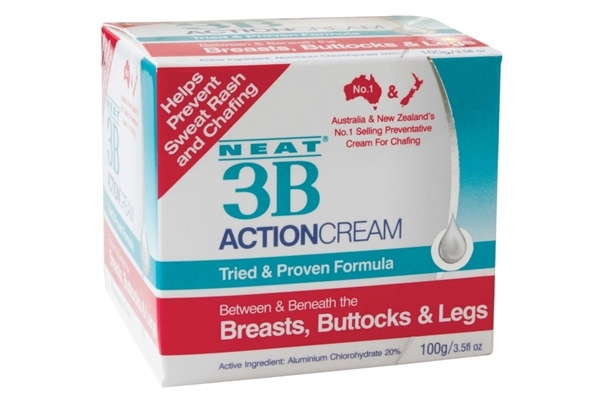 Eclipse Online Pharmacy Nz Neat 3b Action Cream Chafing Sweat Rash Treatment 100g