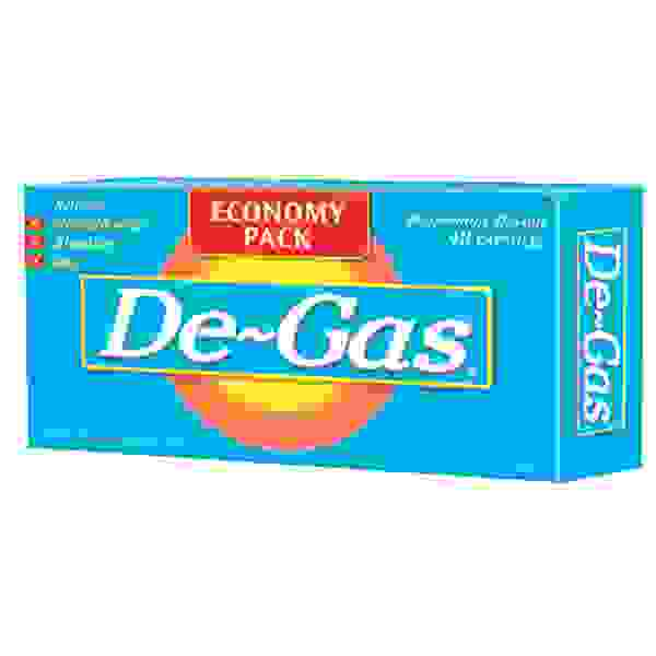 De-Gas Peppermint Flavour  48 Caps