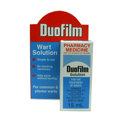 Duofilm Topical Solution for Warts 15ml