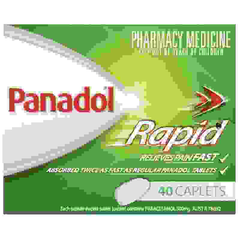 Panadol Rapid 40 Caps